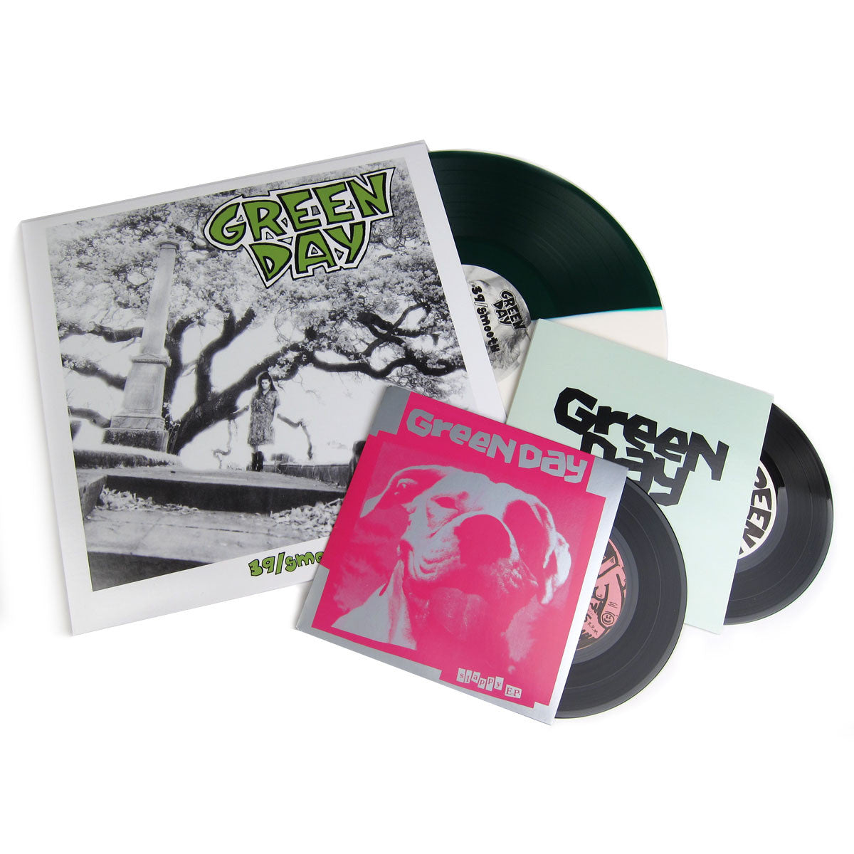 Green Day: 39/Smooth (Colored Vinyl) Vinyl LP+2x7""