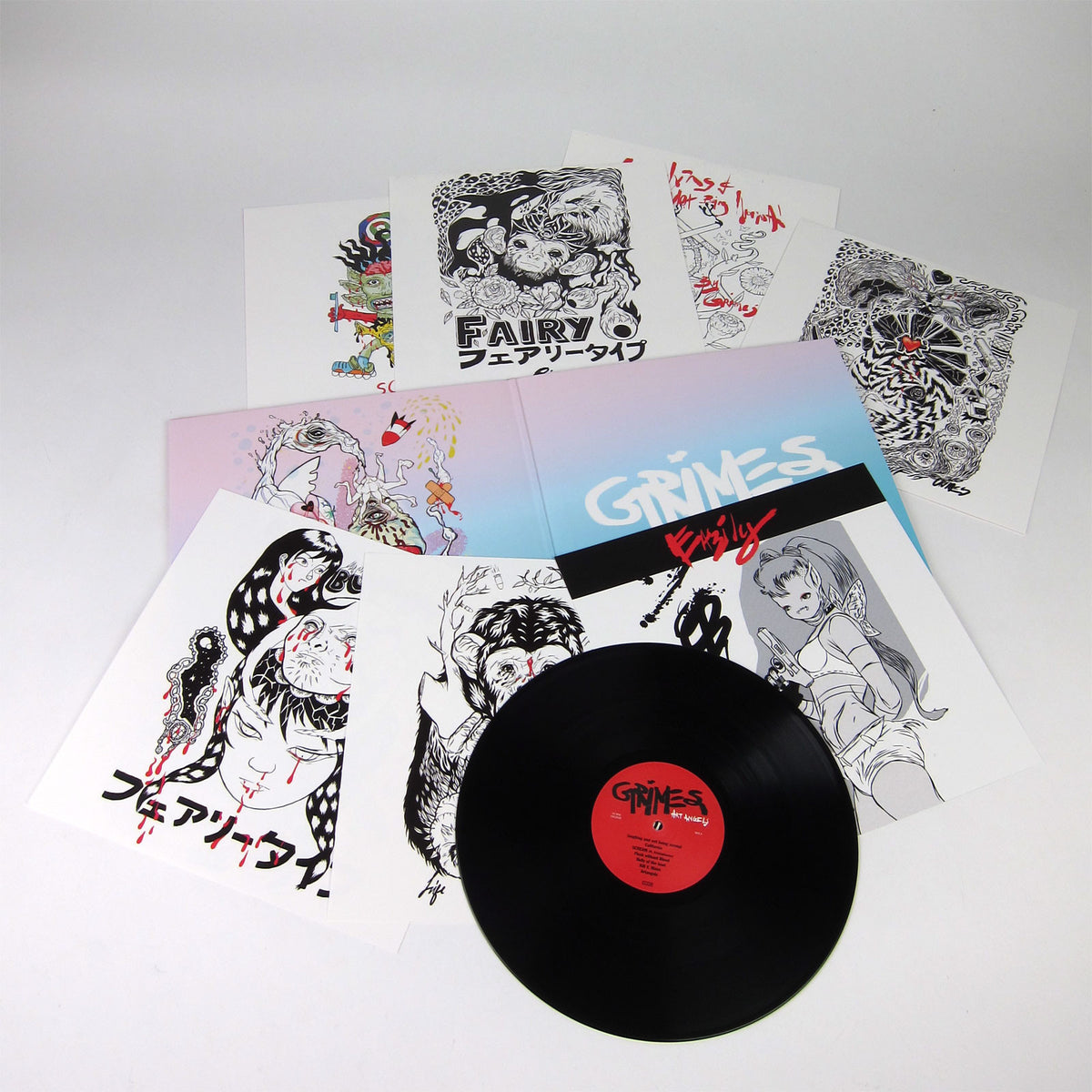Grimes: Vinyl LP Album Pack (Visions, Art Angels)