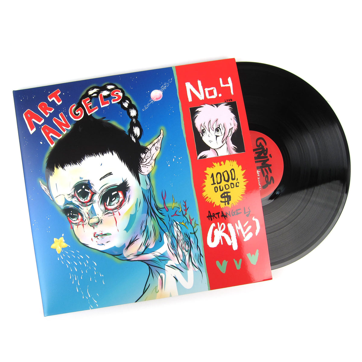 Grimes: Art Angels Vinyl LP