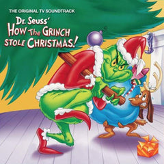 Dr. Seuss: How The Grinch Stole Christmas Green Vinyl LP (Record Store Day)