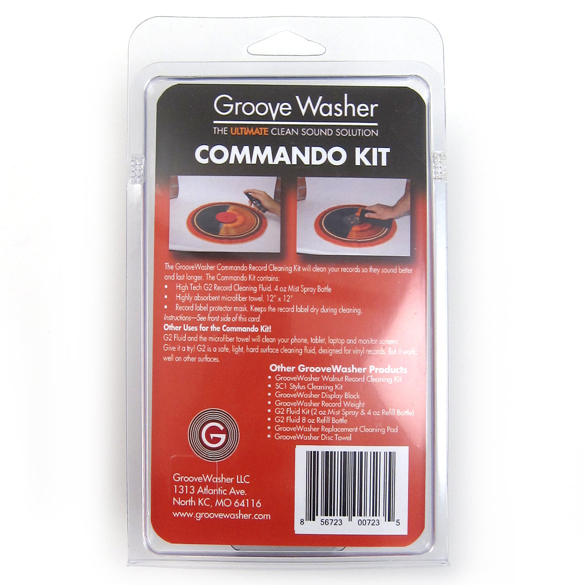 GrooveWasher: Commando Record Cleaning Kit
