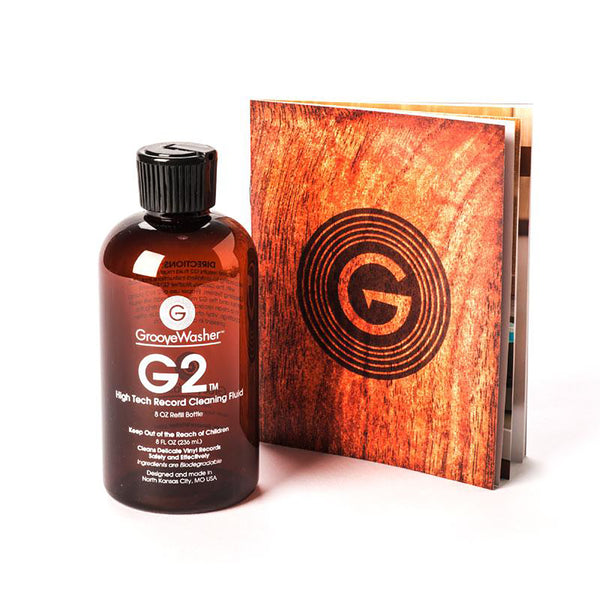 GrooveWasher: G2 Record Cleaning Fluid - 8oz Refill Bottle