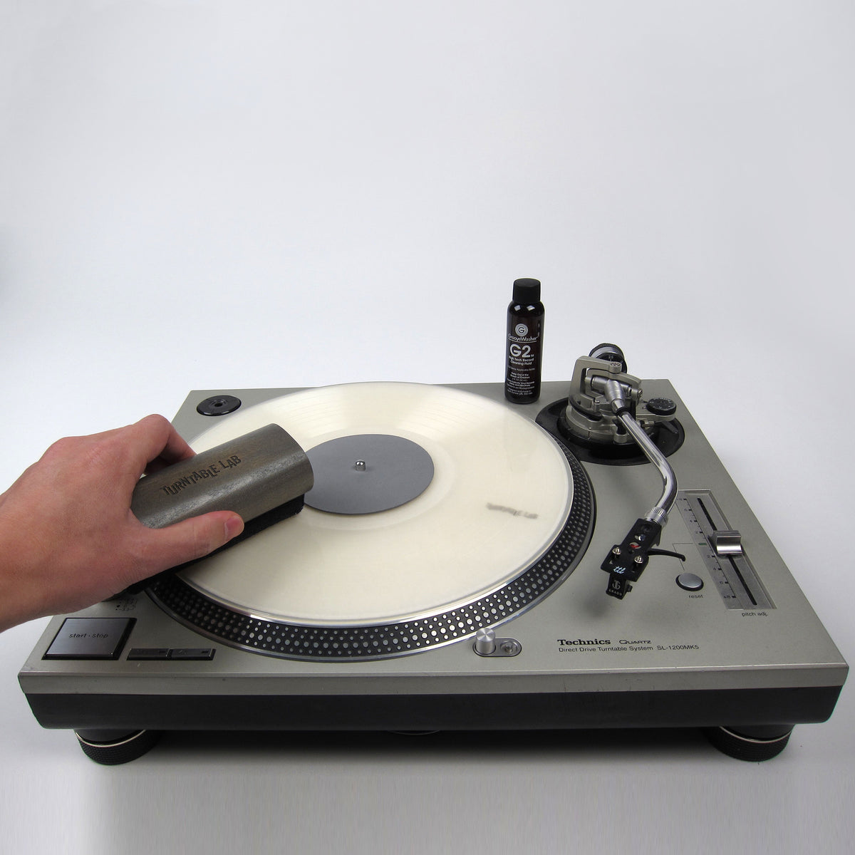 GrooveWasher: Record Cleaner Starter Kit - Turntable Lab Edition
