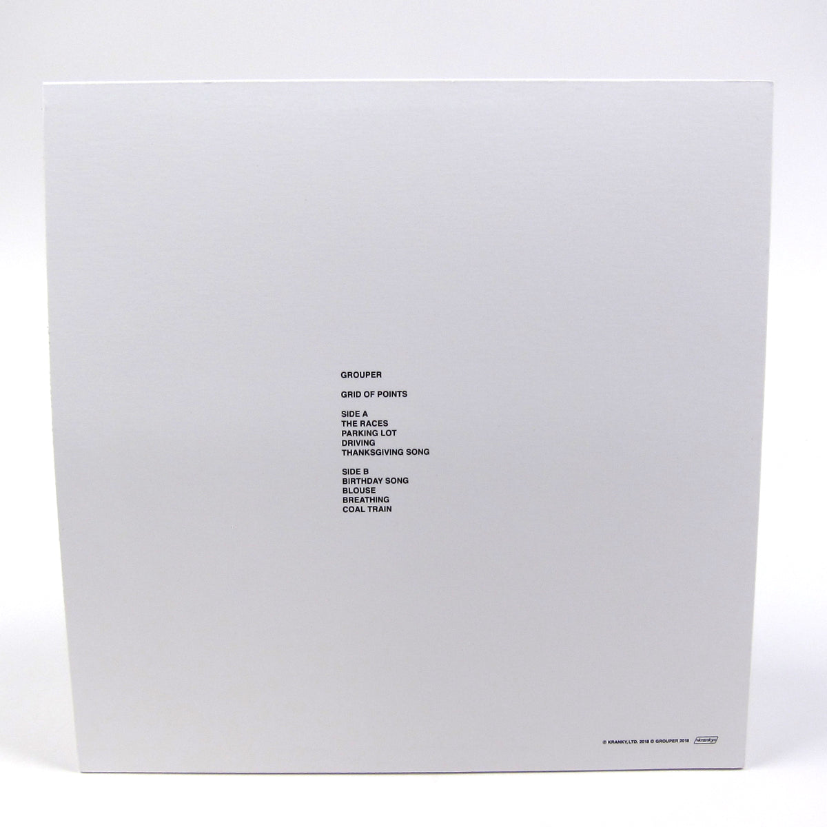Grouper: Grid Of Points Vinyl LP