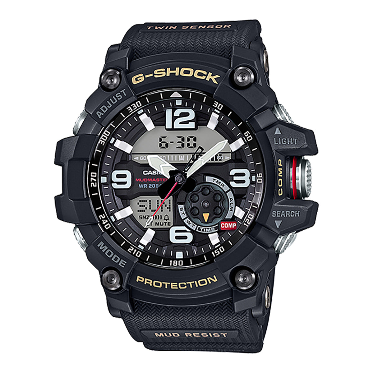 G-Shock: GG-1000-1A Mudmaster Watch - Black