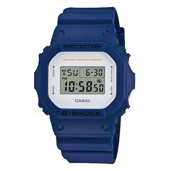 G-Shock: DW-5600M-2CR Watch - Blue