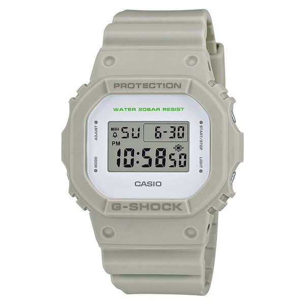 G-Shock: DW-5600M-8CR Watch - Grey