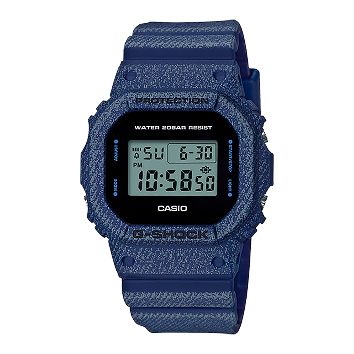 G-Shock: DW-5600DE-2 Watch - Denim'd
