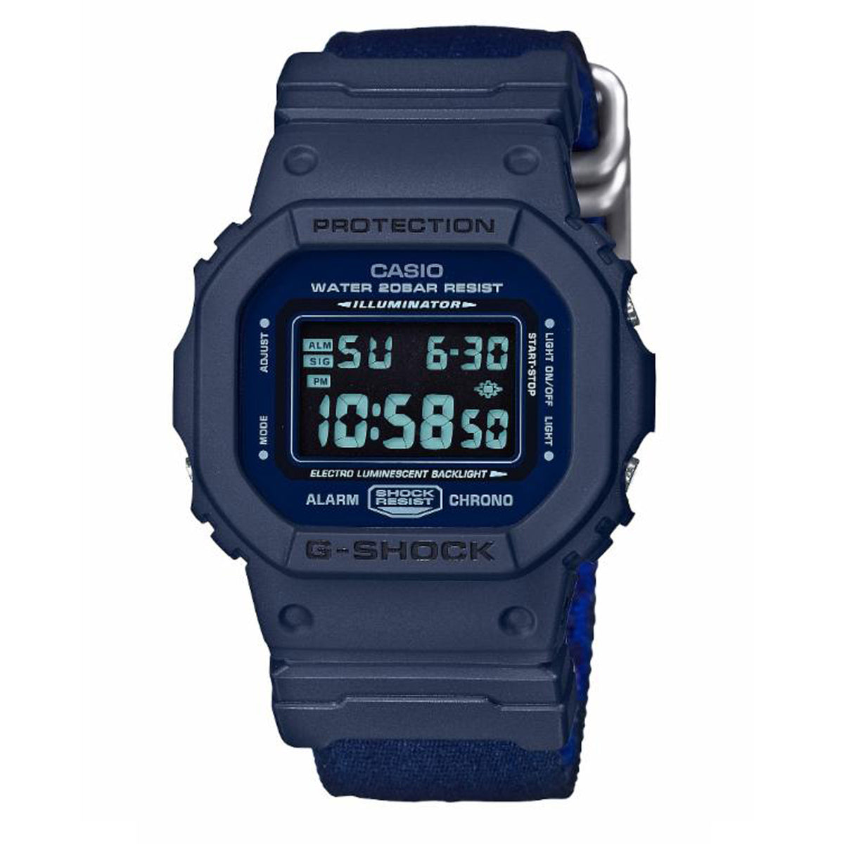 G-Shock: DW5600LU-2 Watch - Blue