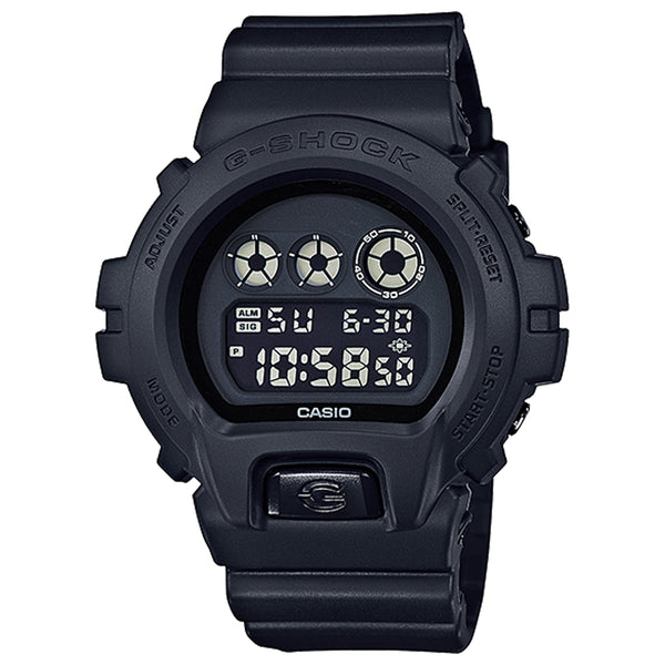 G-Shock: DW6900BB-1 Digital Watch - Black
