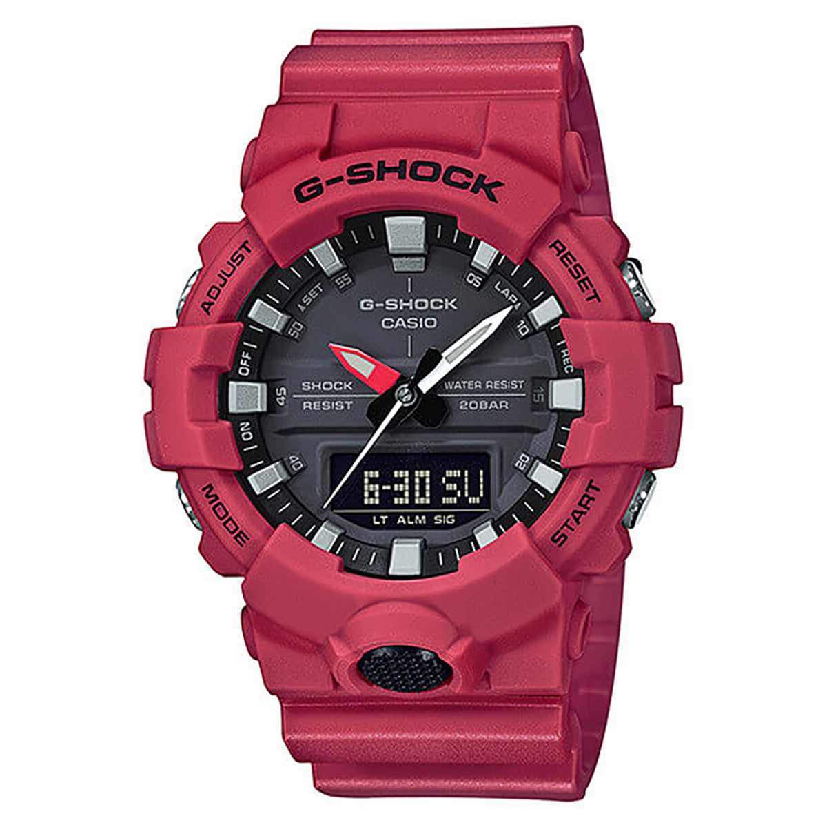 G-Shock: GA800-4A Watch - Red