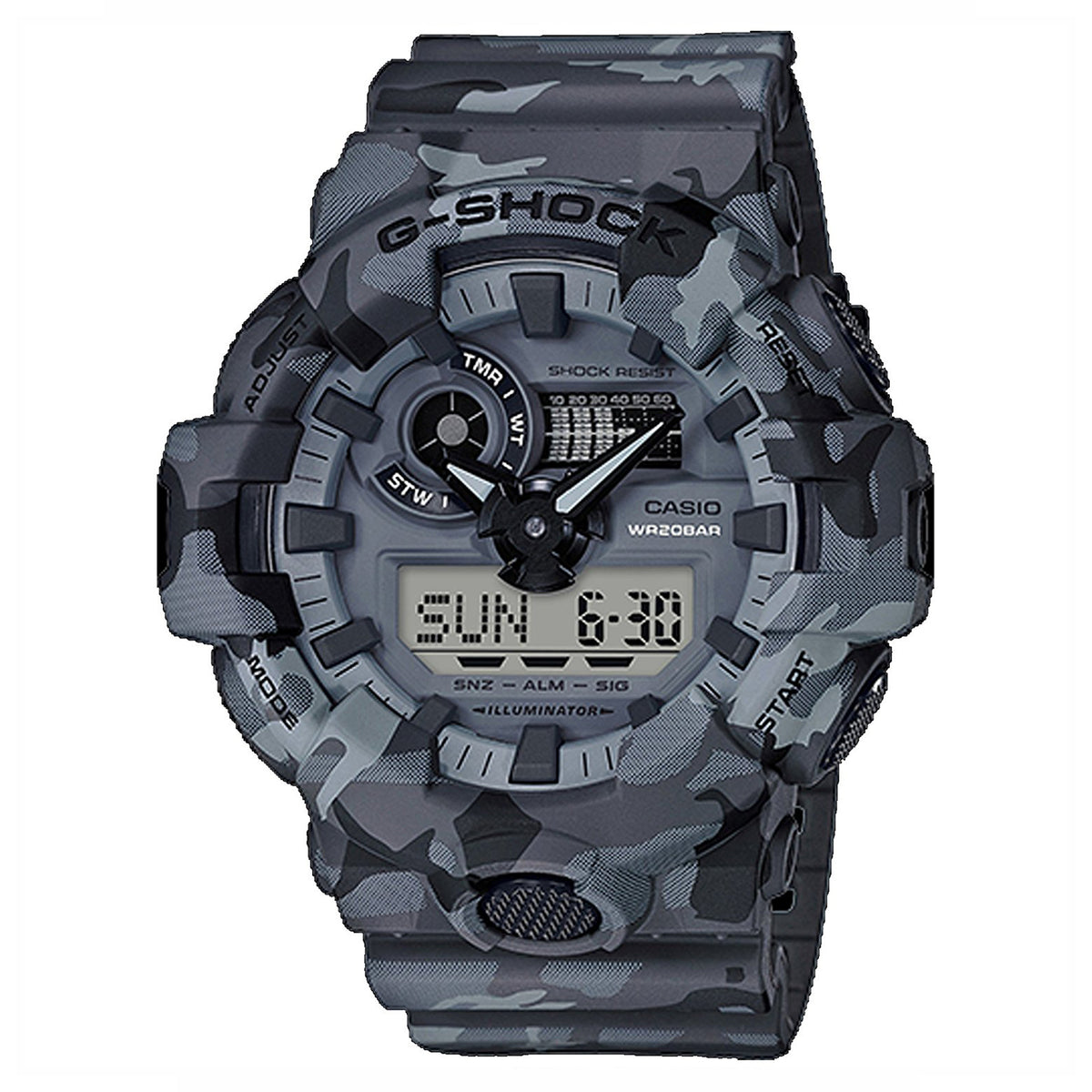 G-Shock: GA700CM-8 Watch - Stealth Grey