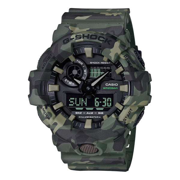G-Shock: GA700CM-3 Watch - Army Green