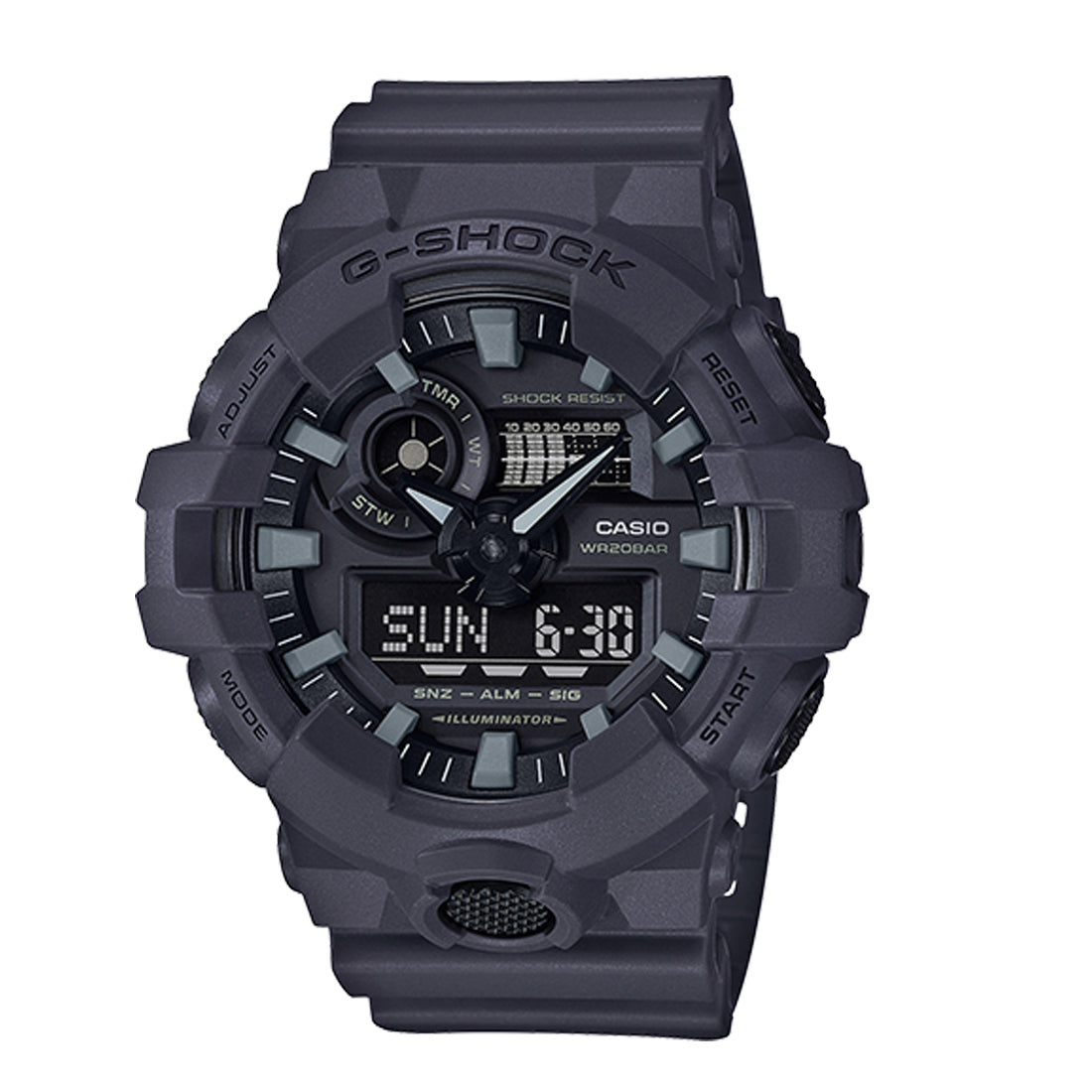 G-Shock: GA-700UC-8A Utility Color Watch - Anthracite