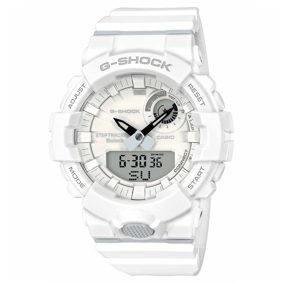 G-Shock: GBA800-7A Watch - White