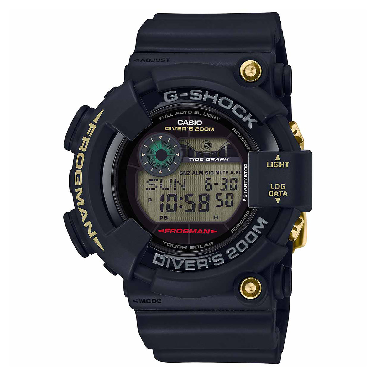 G-Shock: GF8235D-1B Master Of G Watch - Black / Gold