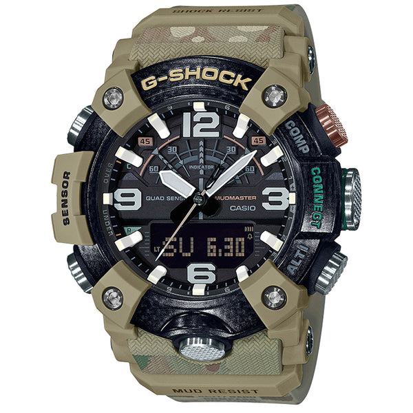 G-Shock: GGB100BA-1A - British Army Mudmaster Watch - Camo Tan