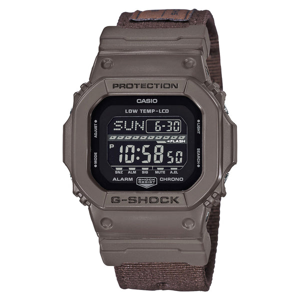 G-Shock: GLS-5600CL-5 G-LIDE Watch - Brown