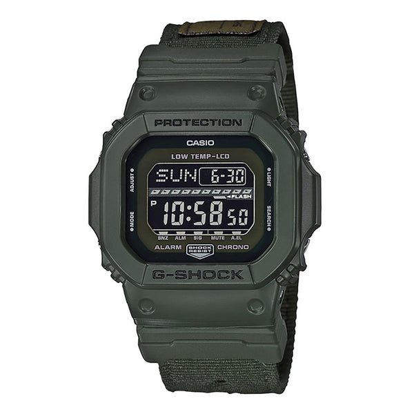 G-Shock: GLS-5600CL-3 G-LIDE Watch - Olive Green