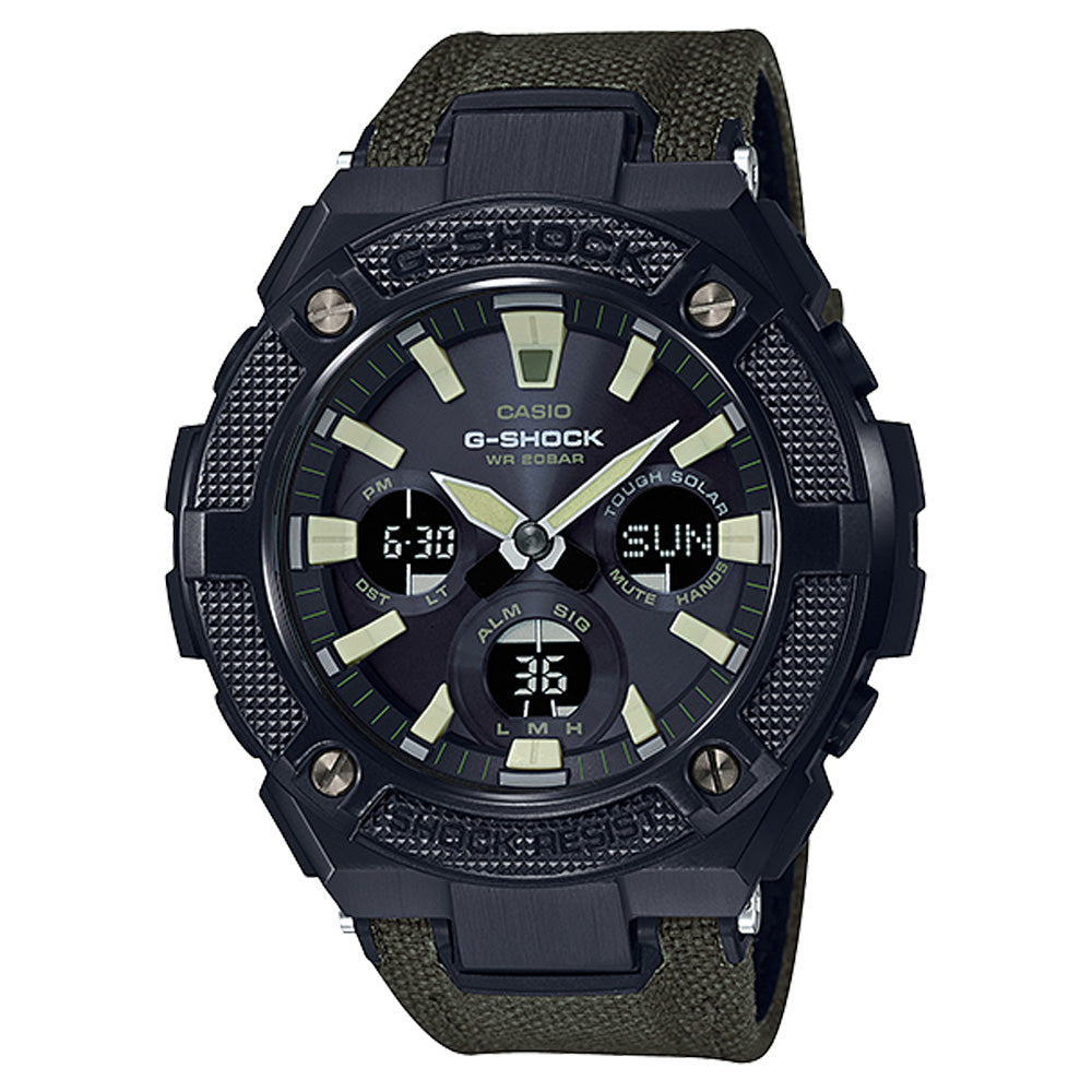 G-Shock: GSTS130BC-1A3 Street Utility Watch - Black / Olive