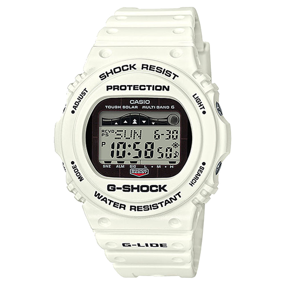 G-Shock: GWX5700CS-7 Watch - White