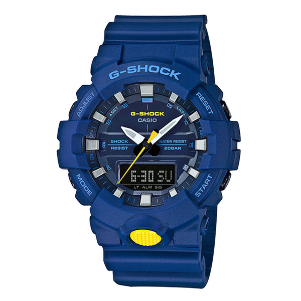 G-Shock: GA800SC-2A Watch - Blue