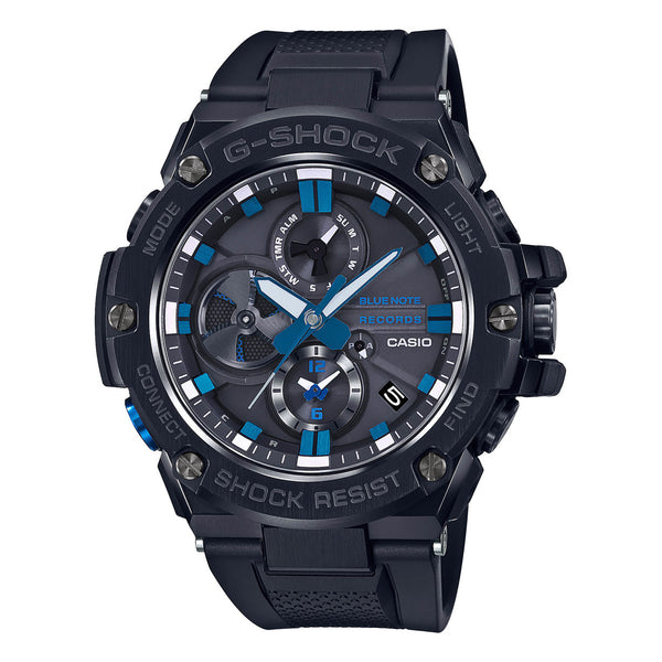 G-Shock: GSTB100BNR-1A Blue Note 80th Anniversary Watch - Blue