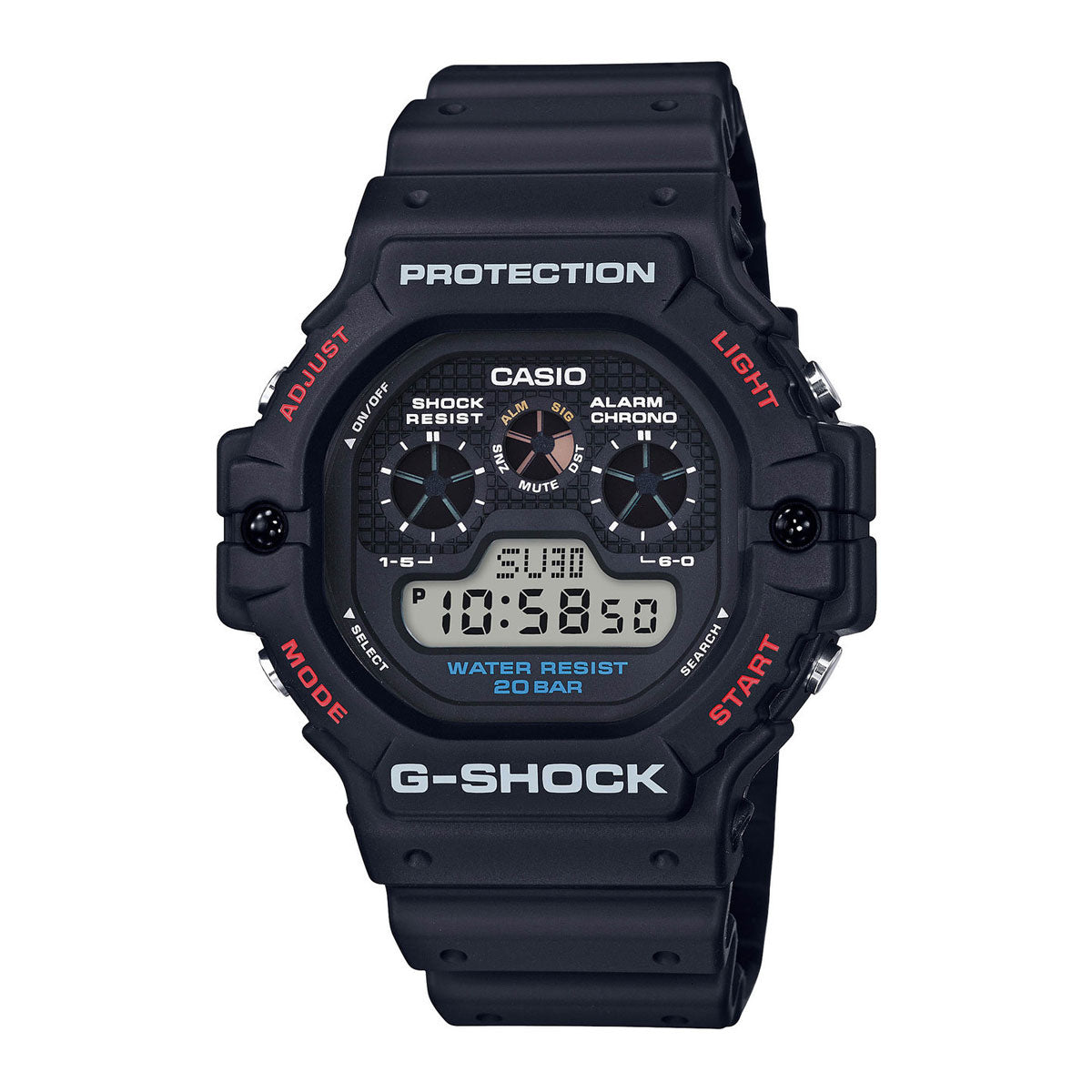 G-Shock: DW-5900-1 Watch - Black