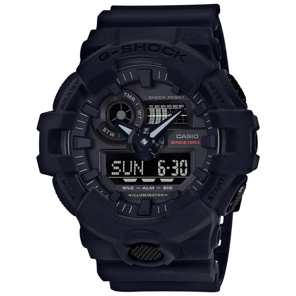 G-Shock: GA735A-1A 35th Anniversary Watch - Big Bang Black