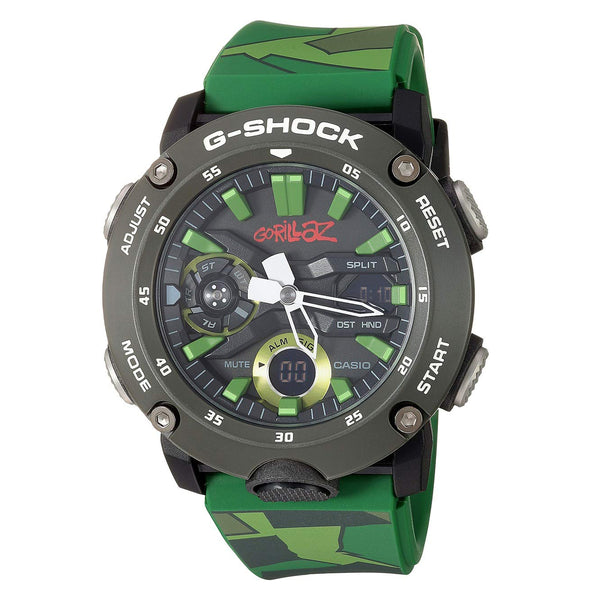 G-Shock: Casio x Gorillaz Watch - Camo (GA2000GZ-3A)