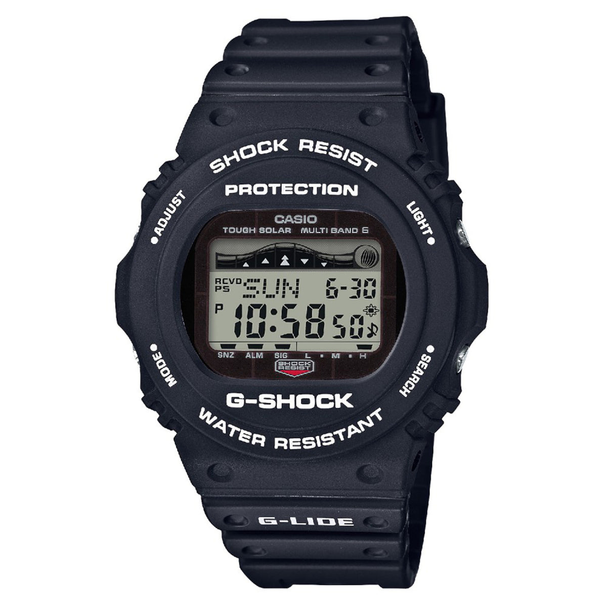 G-Shock: GWX5700CS-1 Watch - Black