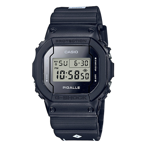 G-Shock: DW-5600PGB-1 Pigalle Watch - Black