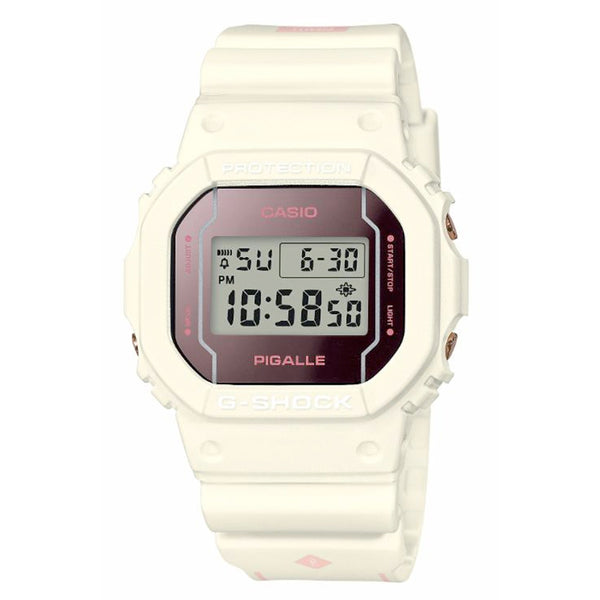 G-Shock: DW-5600PGW-7 Pigalle Watch - White