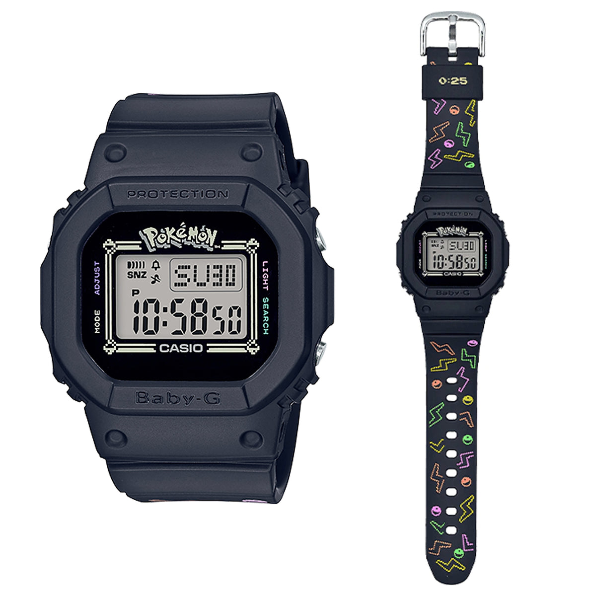 G-Shock: Pokemon Baby-G Watch - Black (BGD560PKC-1)