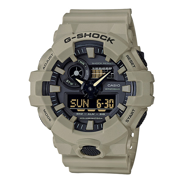G-Shock: GA-700UC-5A Utility Color Watch - Tan
