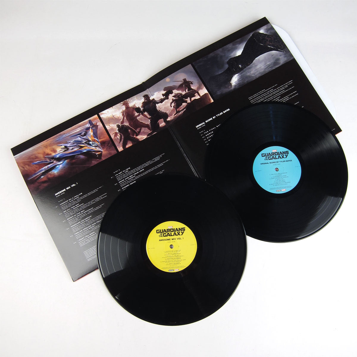 Guardians Of The Galaxy: Soundtrack - Songs From + Original Score Deluxe Vinyl Edition 2LP detail