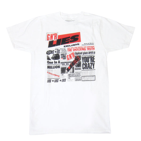 Guns N' Roses: Lies Shirt - White