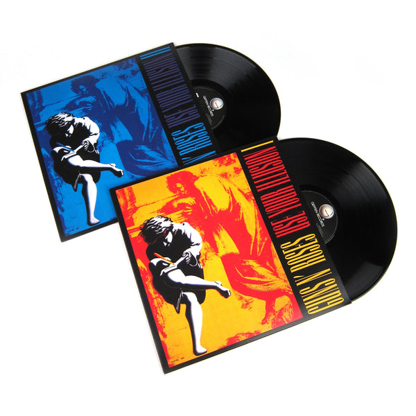 Guns N' Roses: Use Your Illusion Vinyl LP Album Pack