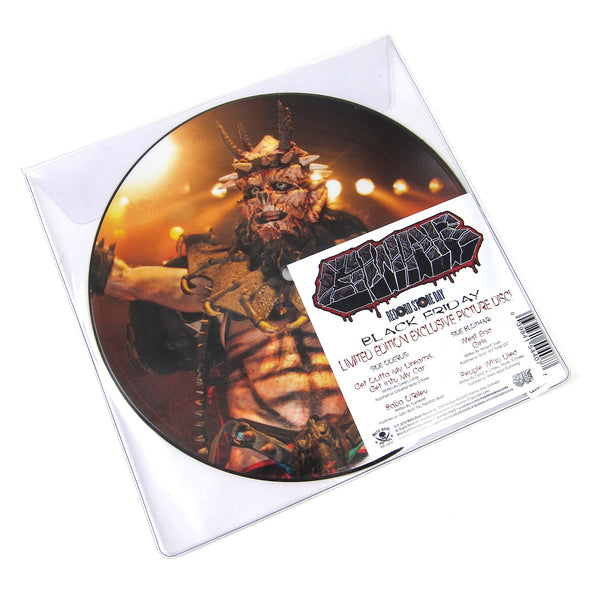 "Gwar: Black Friday Picture Disc Vinyl 7"" (Record Store Day)"