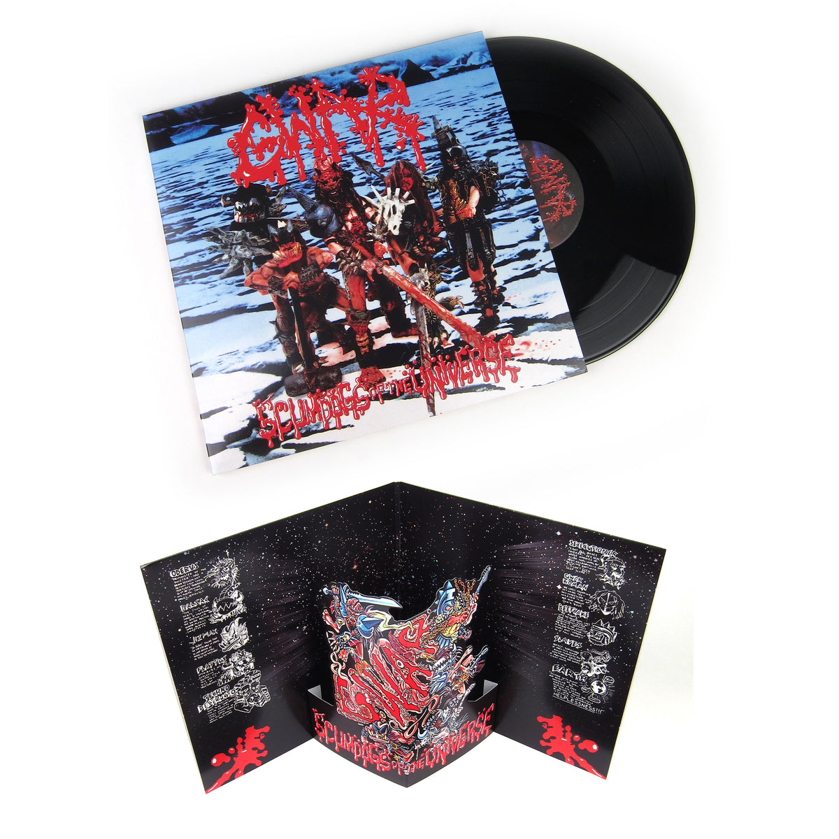 Gwar: Scumdogs of The Universe Vinyl 2LP (Record Store Day)