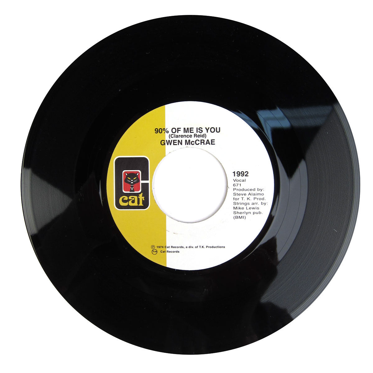 Gwen McCrae: 90% Of Me Is You / It's Worth The Hurt Vinyl 7""