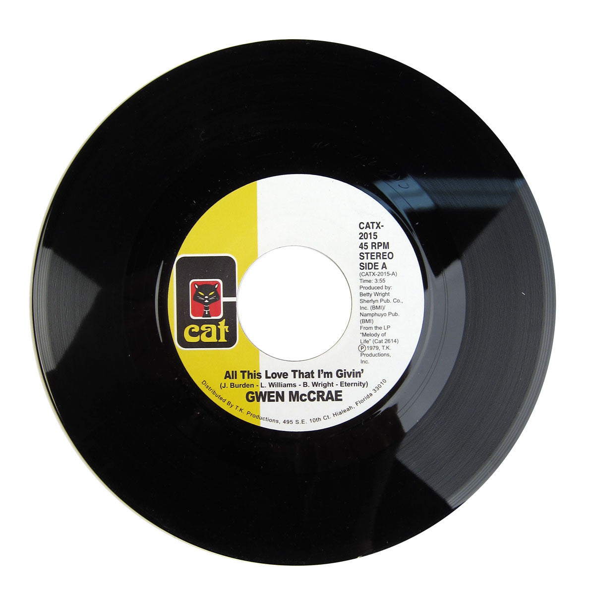 Gwen McCrae: All This Love That I'm Givin' Vinyl 7""