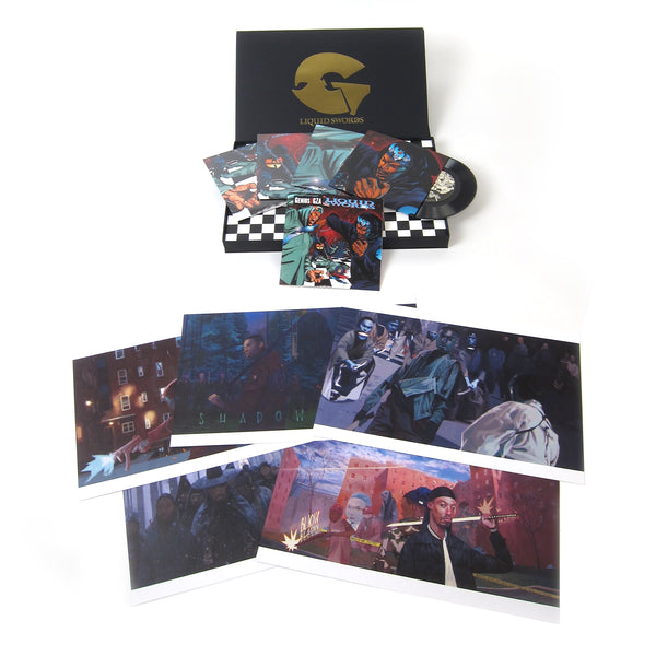 "GZA: Liquid Swords - The Singles Collection Vinyl 4x7"" Boxset"