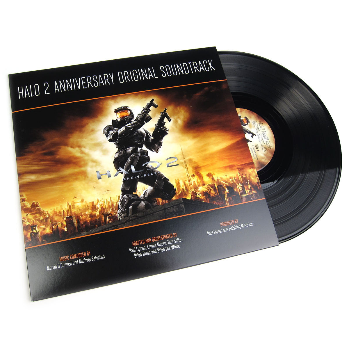 Martin O'Donnell & Michael Salvatori: Halo 2 Anniversary Soundtrack (Free MP3) Vinyl LP