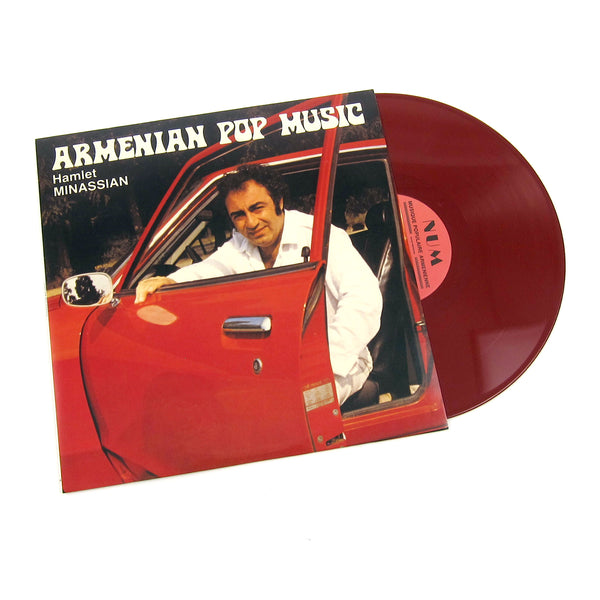Hamlet Minassian: Armenian Pop Music (Colored Vinyl)