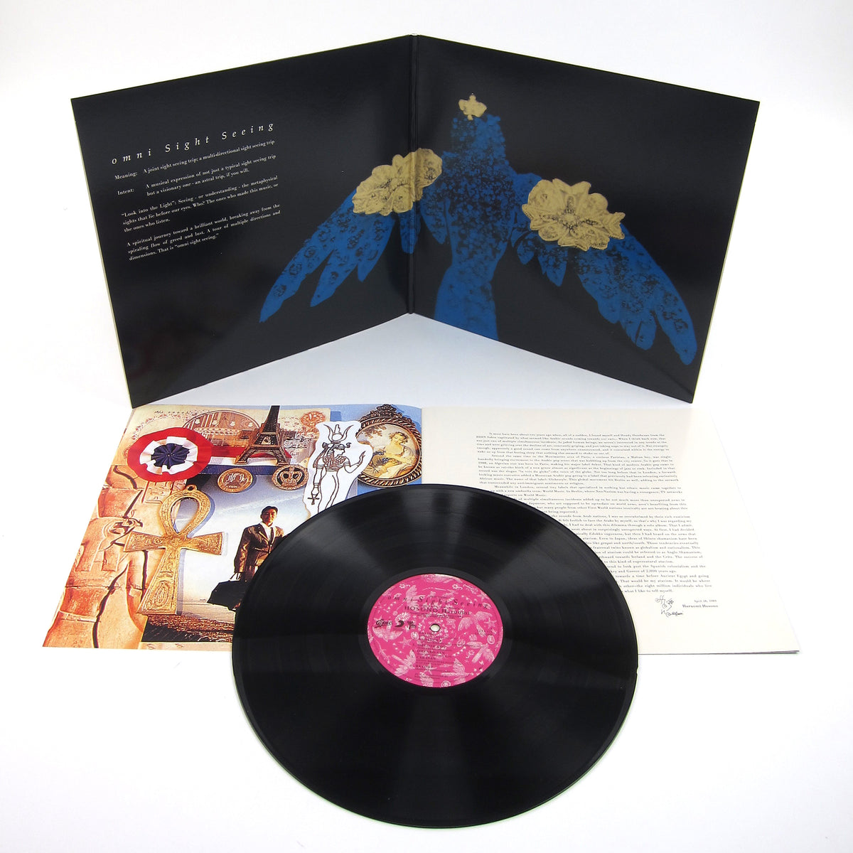 Haruomi Hosono: Omni Sight Seeing Vinyl LP