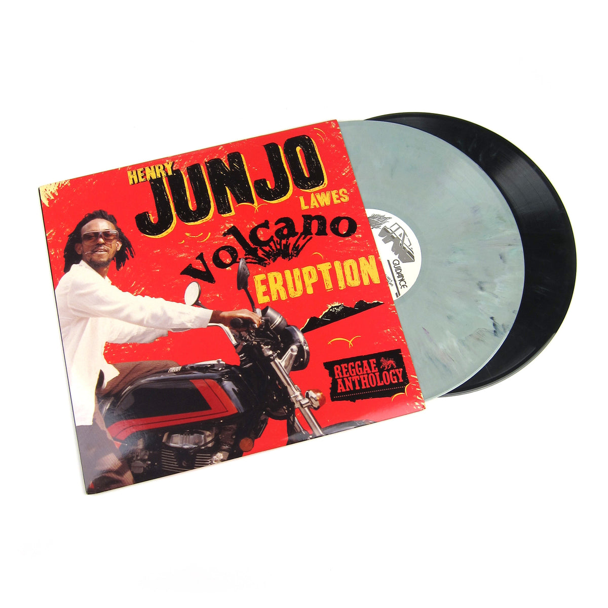 Henry Junjo Lawes: Volcano Eruption Anthology (Colored Vinyl) Vinyl 2LP