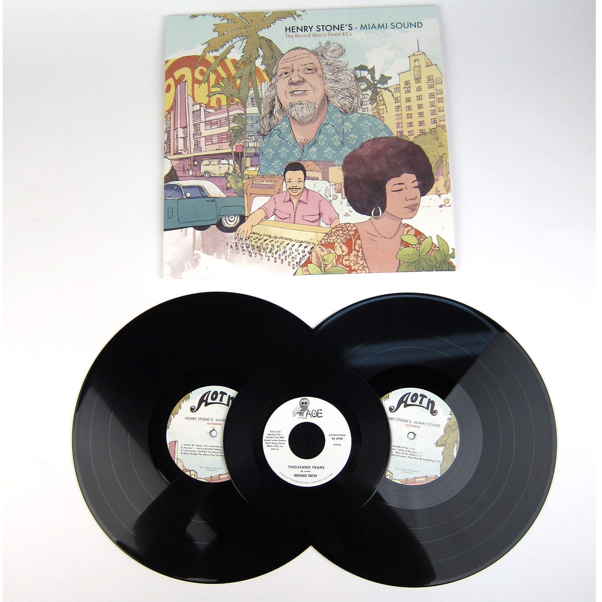 Athens Of The North: Henry Stone's Miami Sound (The Record Man's Finest 45's) Vinyl 2LP+7""