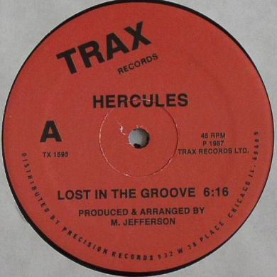 Hercules: Lost In The Groove / 7 Ways 12""