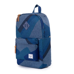 Herschel Supply Co.: Heritage Mid Backpack - Navy Portal / Navy Rubber